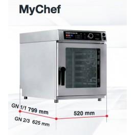Horno Mixto Compacto DISTFORM MYCHEF 10GN 1/1